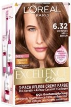 L'Oreal Excellence Haarverf - Nr. 6.32 (Zonnig Licht Bruin)