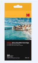 Kodak Dyesub Cartridge - geschikt voor Mini Printer 2 en Minishot camera - 50 stuks fotopapier