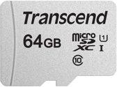 Transcend 64GB micro SD Class 10 U1 300S geheugenkaart