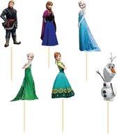 Frozen Cupcake Prikkers | Set van 24 Cupcake Prikkers