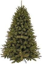 Triumph tree kunstkerstboom forest frosted maat in cm: 425 x 239 groen