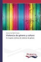 Violencia de Genero y Cultura