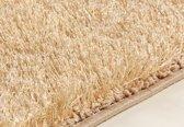 Hoogpolig Vloerkleed met een Bijzonder Glans Vertoon - 120X170 cm - Goud