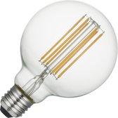 SPL LED Filament Globe G95 - 5,5W (helder) / DIMBAAR