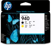 HP 940 - Inktcartridges / Geel / Zwart (C4900A)