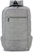 Let op type!! Universele multifunctionele 15.6 inch Laptop Schouderstas studenten Backpack voor MacBook  Samsung  Lenovo  Sony  Dell  Chuwi  Asus  HP  Afmetingen: 43 x 28 x 12 cm (grijs)