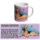 Honden koffie mok Duitse Herder