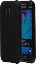 Samsung Galaxy J1 TPU Hoesje Zwart
