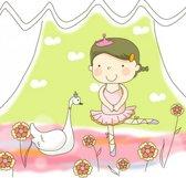 Fotobehang Princess