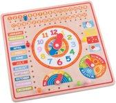 Bigjigs - Kalender, klok, dagen & maanden