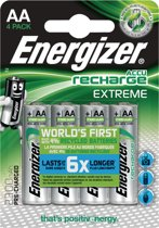 Energizer ENR Recharge Extreme 2300 AA BP4