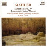 Mahler: Symphony no 10 / Robert Olson, Polish National RSO