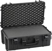 Gaffergear camera koffer 052 zwart   -  incl. plukschuim    -  36,10   x 22,50  x 22,50  cm (BxDxH)