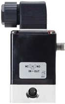 3/2 G1/4'' PVDF 24VDC Magneetventiel Burkert 0330 22340 - 22340