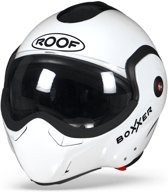 ROOF BoXXer Wit Systeemhelm - Motorhelm - Maat XL