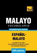 Vocabulario Español-Malayo - 3000 palabras más usadas