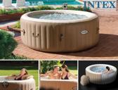 Intex Zwembad Intex PureSpa opblaasbare jacuzzi voor 4 personen