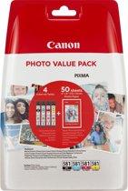 Canon CLI-581 - Inktcartridge multipack - Zwart / Cyaan / Magenta / Geel