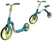 SPORTPLUS SP-SC-021 -  2 in 1 Step & Loopfitets - Balance bike - blauw