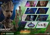 Hottoys Marvel: Avengers Infinity War - Groot 1:6 scale Figure