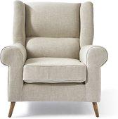Riviera Maison Delano Wing Chair Lin Fabulous Flax - Fauteuils