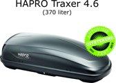 Hapro - Dakkoffer - Traxer 4.6 - 370 Liter - Antraciet