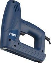 FERM ETM1004 Elektrische Tacker - Incl. 400 Nietjes en 100 Spijkers