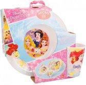 Disney Princess / Prinsessen magnetron ontbijtset 3 delig