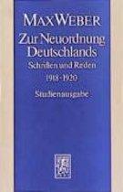 Zur Neuordnung Deutschlands