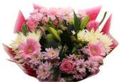 Bloemen boeket XL roze