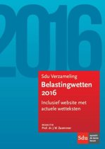 Sdu verzameling belastingwetten 2016