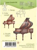 LeCrea - Doodle stempel Piano 55.1994