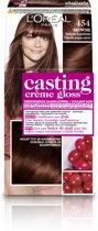 L'Oréal Paris Casting Crème Gloss 454 - Mahonie Koperbruin - Haarverf