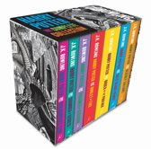 Boek cover Harry potter boxed set: the complete collection (adult paperback) van J.K. Rowling (Onbekend)