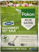 POKON HANDIG- GAZONMEST MET KALK 3-IN-1 75M²
