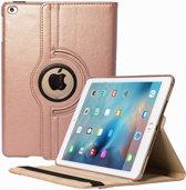 Apple iPad 10.2 (2019) 360° Draaibare Hoes - Rose Goud