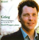 Grieg: Pieces Lyriques Op 12, 43 &
