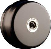 Byron 1210 - Bedrade deurbel - Met klassiek belgeluid - Zwartkleurig metaal