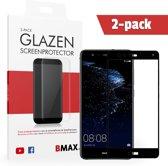 2-pack BMAX P10 Lite Screenprotector Full Cover 3D   Dekt het volledige scherm   Beschermglas   Tempered Glass