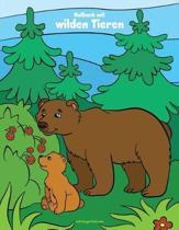 Malbuch Mit Wilden Tieren 1, 2 & 3