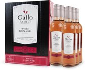 Gallo Family Vineyards White Zinfandel Rosé - 6x 75cl (Doos)