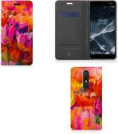 Bookcase Nokia 5.1 (2018) Tulips