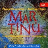 Martinu: The Five Piano Concertos / Leichner, Belohlavek