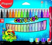 Color'peps Jungle viltstiften - medium penpunt x 18