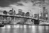 Papermoon New York Brooklyn Vlies Fotobehang 200x149cm 4-Banen