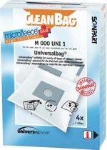 CleanBag M000UNI1 universele stofzuigerzak voor vrijwel alle merken