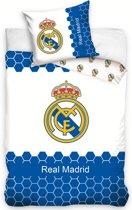 Real Madrid Dekbedovertrek Blauw 140x200