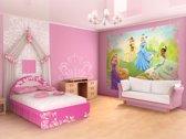 Fotobehang Disney, Prinsessen | Groen | 312x219cm