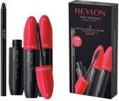 Revlon 3 x Ultimate All-In-One Mascara Blackest Black + 1 Colorstay Eyeliner Black