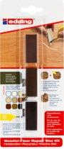 Edding 8902 houten vloeren-reparatiewas-set, oud vurenhout, per stuk in blisterverpakking